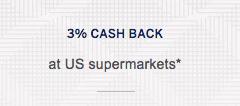 3% de reembolso en efectivo en supermercados