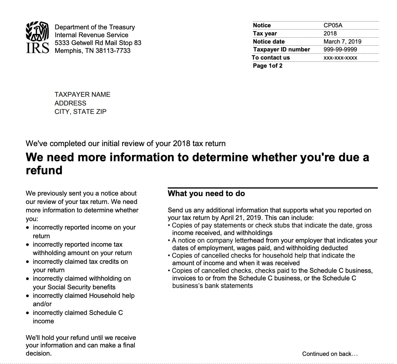 Carta de muestra CP05A