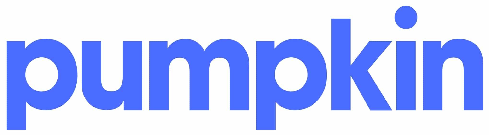 Logotipo de seguro de mascota de calabaza