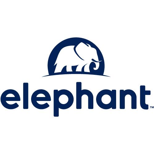 Logotipo de seguro de elefante