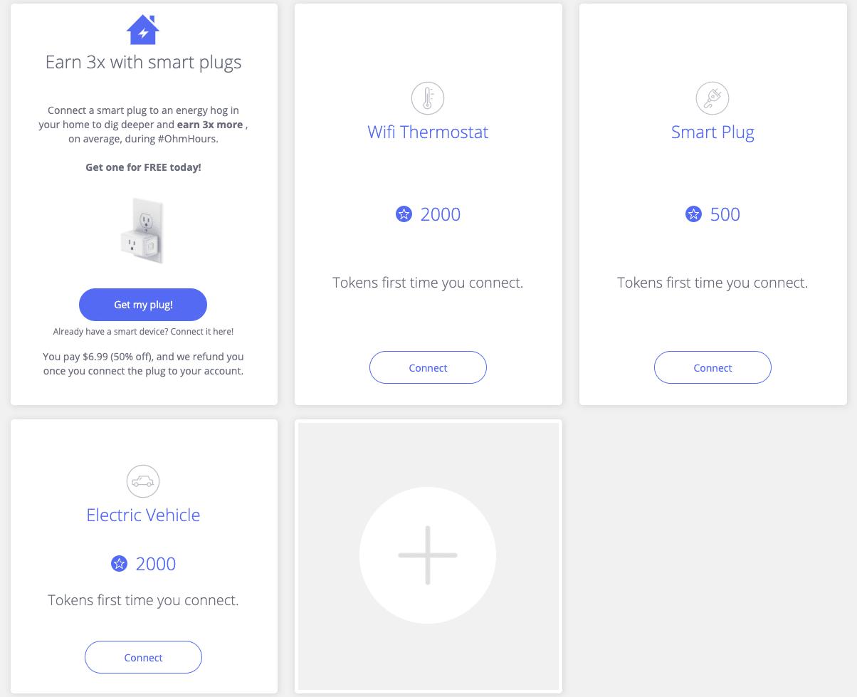 Panel de OhmConnect