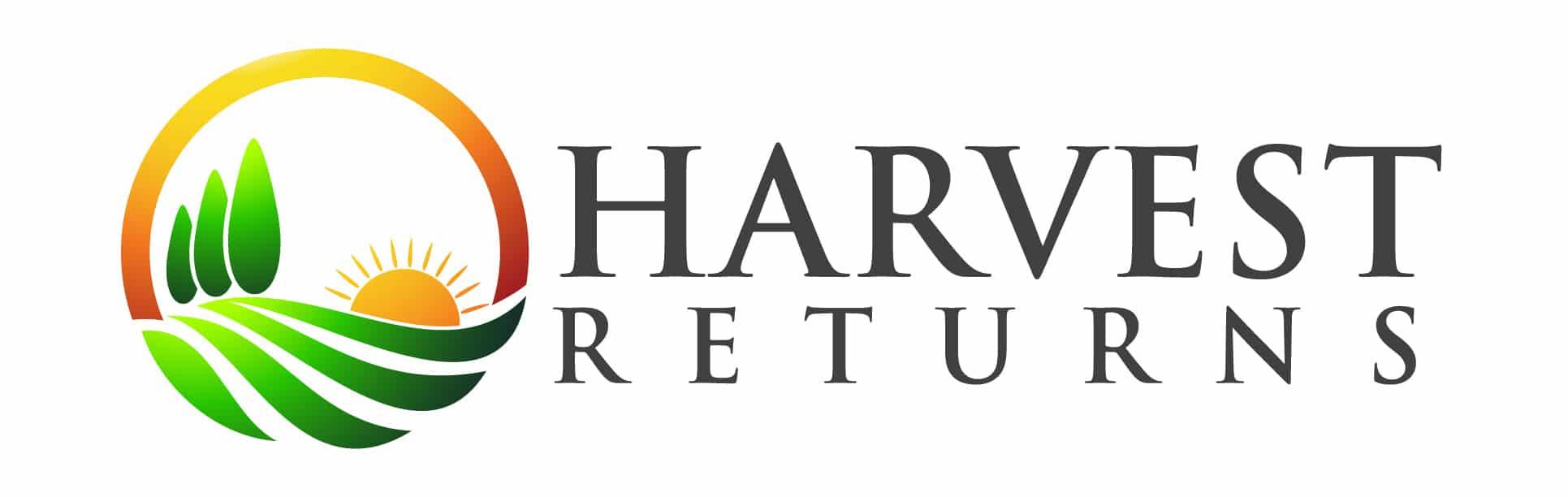 Logotipo de devoluciones de cosecha