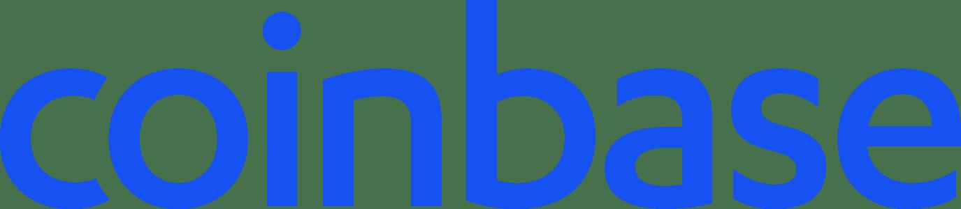 Logotipo de Coinbase (grande), ofertas de bonificación de criptomonedas