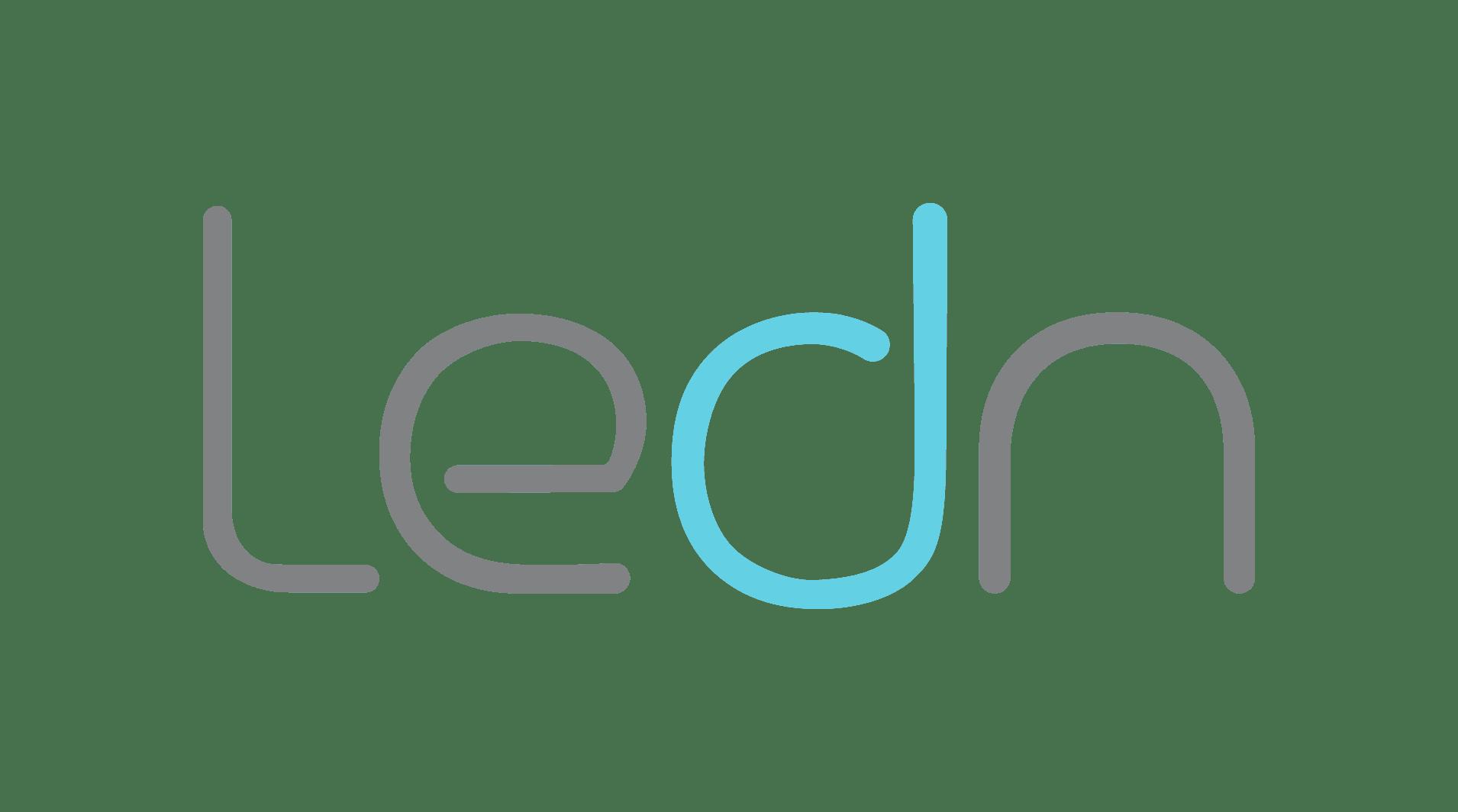 Logotipo de Ledn