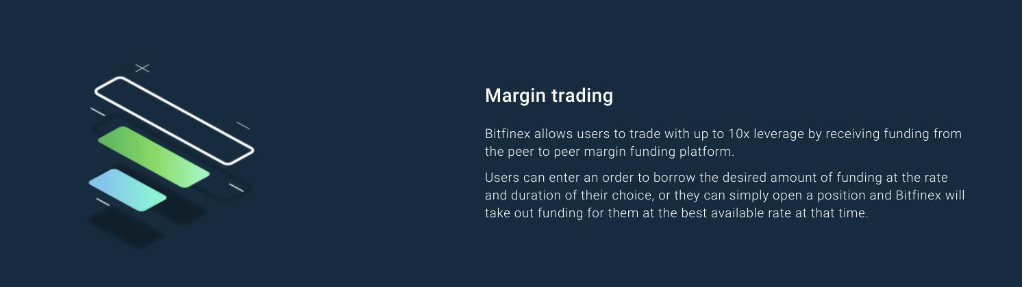 Comercio de margen de Bitfinex