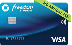 Tarjeta de crédito estudiantil Chase Freedom